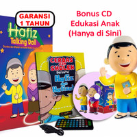 Jual SALE Boneka Hafiz Talking Doll + Cd Edukasi & Parenting (Only Here!) Murah