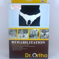 HERNIA BELT WITH SOFT PADS DR. ORTHO M / CELANA HERNIA