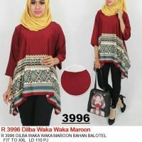 oversized blouse dilva waka waka jumbo
