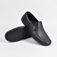 Jual Sepatu Pantofel Karet ATT 353 Premium Simple Kantor Praktek Terlaris Murah