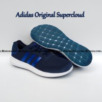Original Sepatu Adidas Supercloud Running Shoes Super cloudfoam Casual
