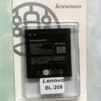 Battery Baterai Batre Lenovo A706/A880/S516/A516/A630E BL-209 Original