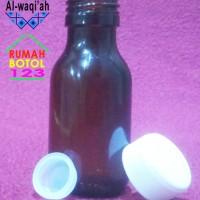 Jual Botol 50 ml Coklat Amber / Kapsul / Laboratorium Murah