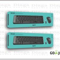 Logitech MK220 Wireless Keyboard + Mouse ORIGINAL GARANSI RESMI