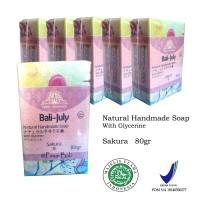 Sabun natural 6pcs - Natural Handmade Soap Bali July