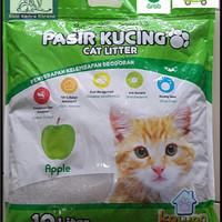 Pasir Kucing Gumpal wangi kawan 10 Liter cat litter bentonite cat sand