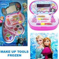 Mainan Anak Perempuan Cewek Makeup Kosmetik Beauty Set 3 Susun FROZEN