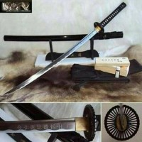 pedang samurai/katana the lash black