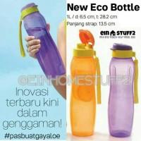 Jual Tempat Minum New Eco Bottle 1 Liter Tupperware dengan Tali Murah