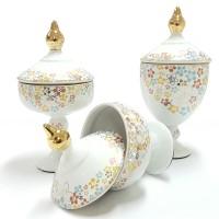 Jual Vicenza  Trophy Candy Jar - Guci Toples Tempat Permen T383  Murah