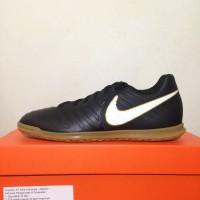 Sepatu Futsal Nike Tiempo X Rio IV IC Black 897769-002 Original BNIB