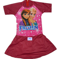 harga Baju Renang Anak Frozen Model Celana Rok Ukuran Sd Tokopedia.com