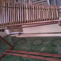 Jual Angklung Pengamen Bahan Bambu Hitam Toel 31 Nada Bagus Murah Murah