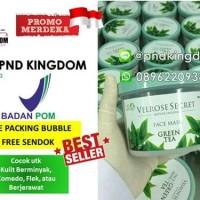 Jual TERBARU BPOM LULUR WAJAH VELROSE SECRET NATURE ORGANIC GREEN TEA Murah
