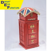Mainan / Miniatur Telepon London Resin (HAC-33)