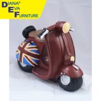 Mainan / Miniatur Vesva London (HAC-34)