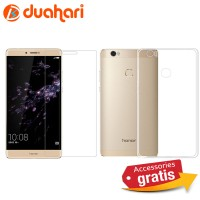 2in1 Tempered Glass Huawei HONOR NOTE 8 Soft case Casing Huawei NOTE 8