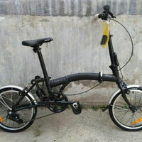 Sepeda Lipat 16 United Trifold (Lipatan Model Brompthon)