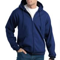 Jual Jaket Sweater Polos - Biru Dongker / Navy Murah