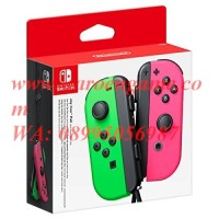 Nintendo Switch / N Switch Joy-Con (Left / Right) (Neon Green Pink)