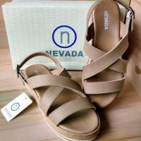 Sepatu Sandal Wanita Cantik NEVADA WR6PK New Original Matahari LIMITED