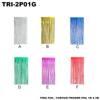 Tirai Foil or Curtain Fringer Foil