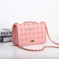 Jual Tas Wanita Import Pink Cute Studded DST10044 Murah