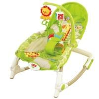 Fisher Price Newborn to Toddler Portable Rocker Bouncer - Rainforest