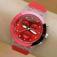 Jam Tangan Wanita Swatch Swiss (Guess Rolex Lv)
