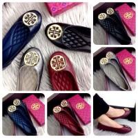 TORY BURCH Saviola Ballerina ||Sepatu Wanita Cantik|Sepatu Import Mura