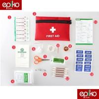 ALAT PERTOLONGAN PERTAMA (P3K) LENGKAP / Outdoor First Aid Kit 13 in 1