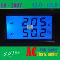 harga Digital Ac Volt + Hertz Meter  Pln Genset Volt Meter Frequency Meter Tokopedia.com