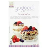 Yogood Cranberries Gourmet Muesli Cereal Sereal Sehat Diet Sarapan Aus