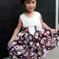 Dress anak Gaun Baju Anak Perempuan anak cewe 4-7 TAHUN