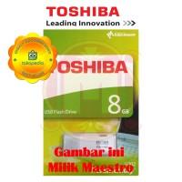 Flashdisk Toshiba 8GB Bergaransi Flash disk Flash Drive Toshiba 8GB