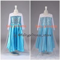 Jual Elsa frozen kostum long Murah