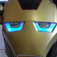 Jual Topeng LED Ironman Superhero Murah