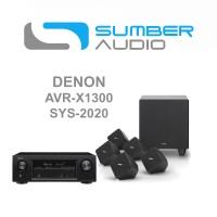 Jual DENON AVR-X1300W DAN SYS-2020 HOME THEATER SET 5.1 Murah