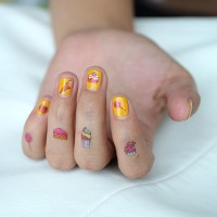 Tattoo Sementara Kuku - NAIL Temporary Tattoo