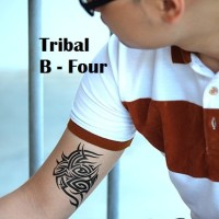 Tattoo Sementara - Temporary Tattoo BIG TRIBAL MYSTERY 01