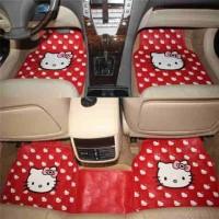 Jual karpet mobil hello kitty Murah