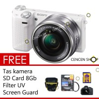 FREE++| SONY alpha ILCE-A5000 kit 16-50mm kamera mirrorless A 5000
