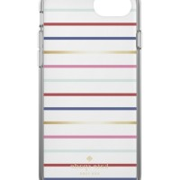Kate Spade New York iPhone 7 Case - Surprise Stripe Gold/Multi