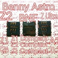 Konektor Sim Sony Xperia Z1, Z2, A2, Z2A, Z Ultra, Z1 Mini, Z2 Mini