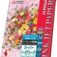 MITSUBISHI INKJET PAPER 120GSM A4 - MADE IN JAPAN