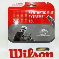 Senar Tenis Wilson Synthetic Gut Extreme 15L NaturalOriginal