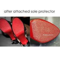 High Heel Sole Protector Solace Sol Pelindung Sepatu Tinggi Wanita