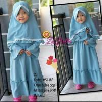 gamis anak   gamis size 6&8   baju muslim