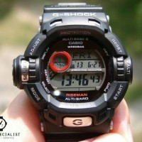Jam Tangan Pria CASIO G Shock RISEMAN G-9200-1D Original