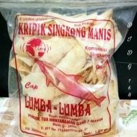 Jual Kripik Singkong Manis Cap Lumba - Lumba isi 200gr Murah